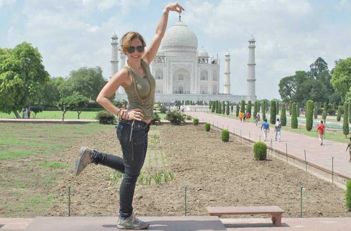 Monica Hornung Yoga Instructor trained in India