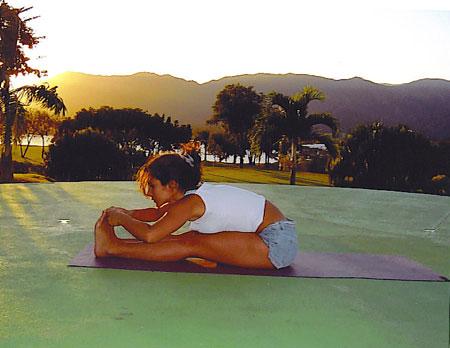 Yoga Inclinación hacia adelante Monica Hornung